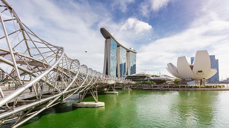 Image of the Singapore Skyline